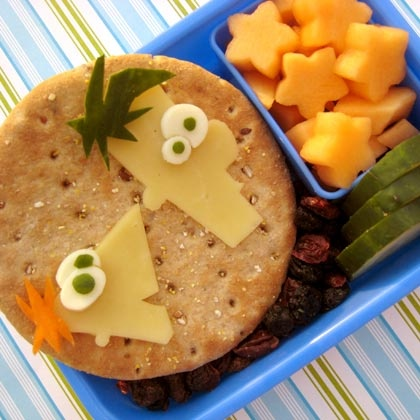 Pinterest is full of ideas for creative, healthy lunches.
