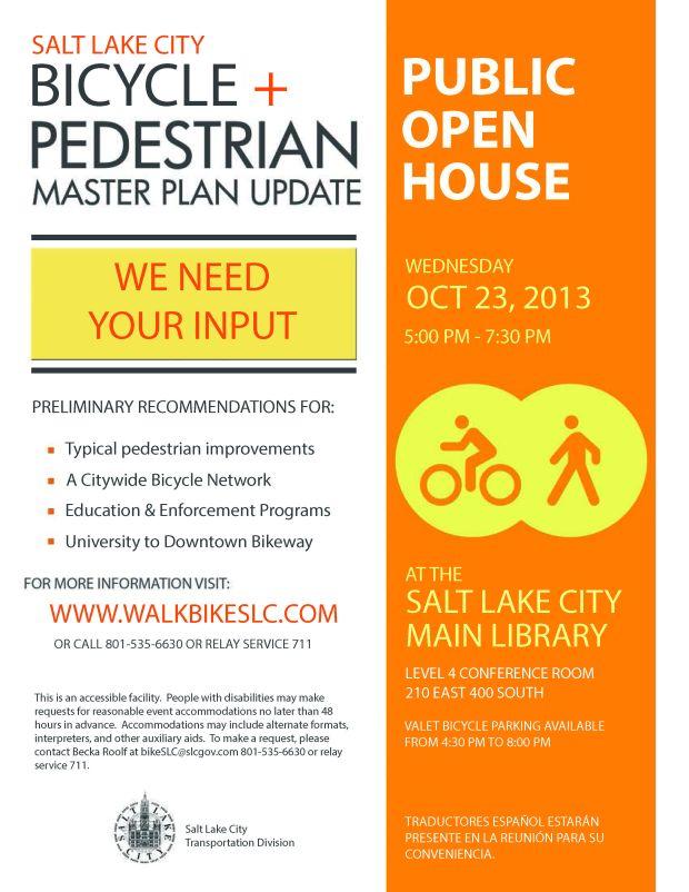 Bike Ped Open House Flyer_October17