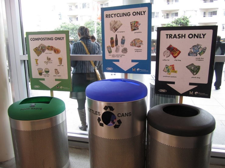 Moscone Center Recycling
