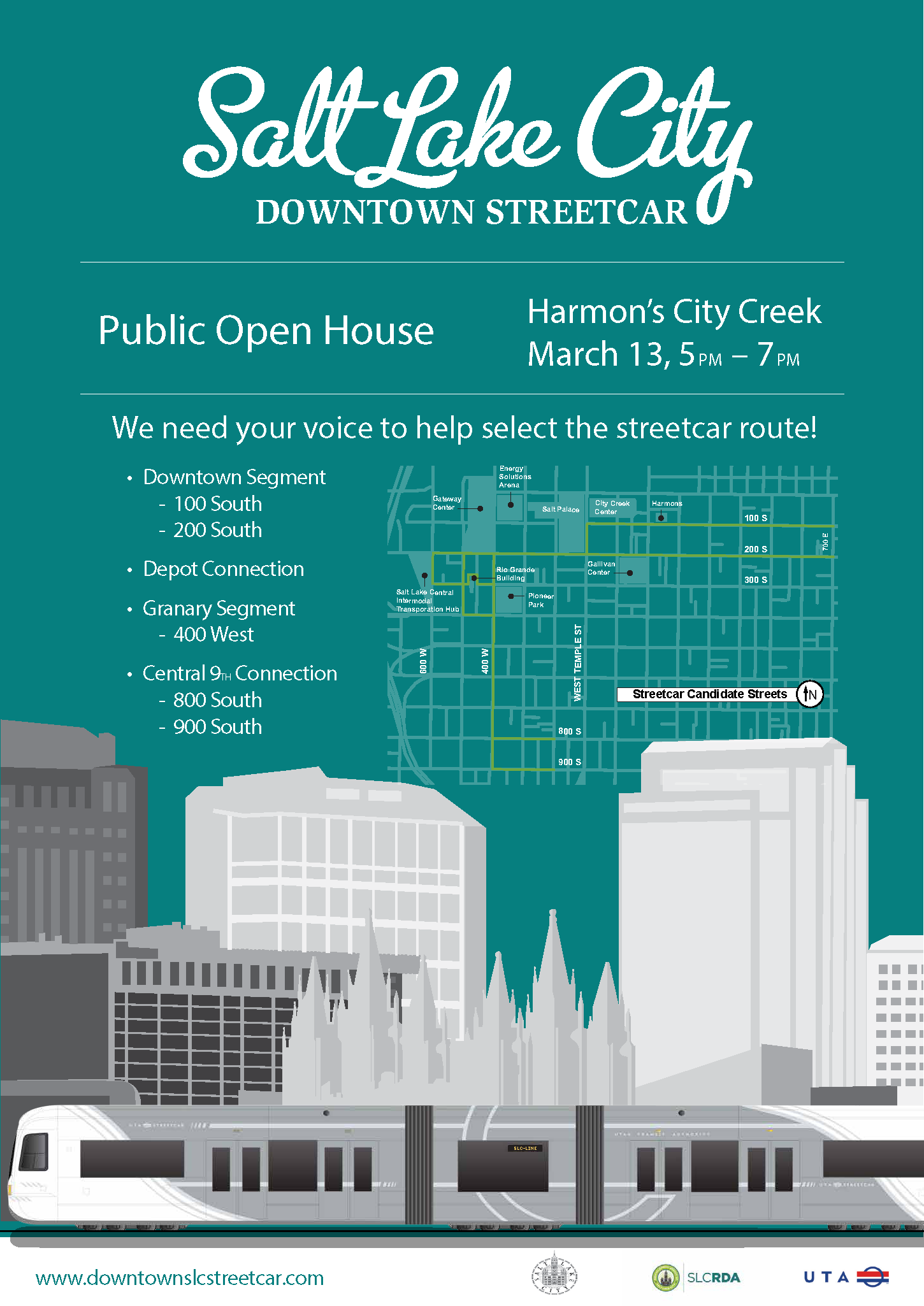 DowntownStreetcar Poster