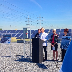 Mayor Ralph Becker talks about Salt Lake City's commitment to clean energy