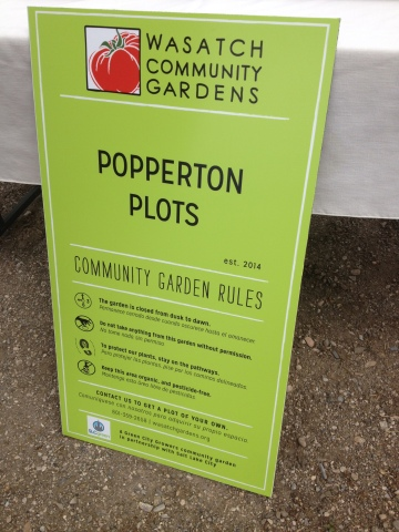 Popperton Plots: A Community Garden for The Avenues