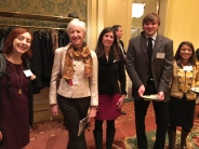 The SLCgreen crew at the Sustainable Business Awards luncheon.