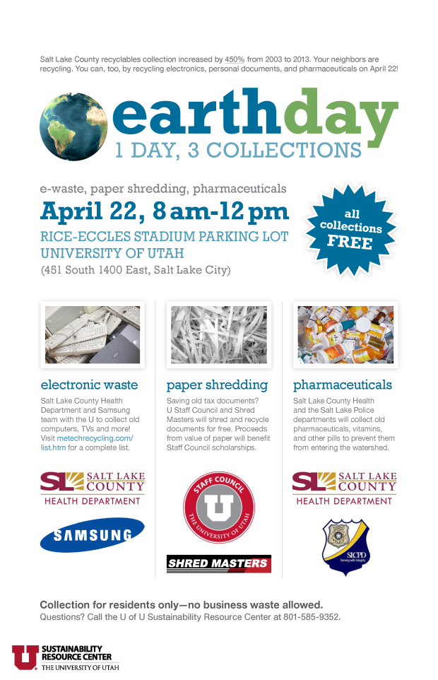 uofu2015earthdaycollections