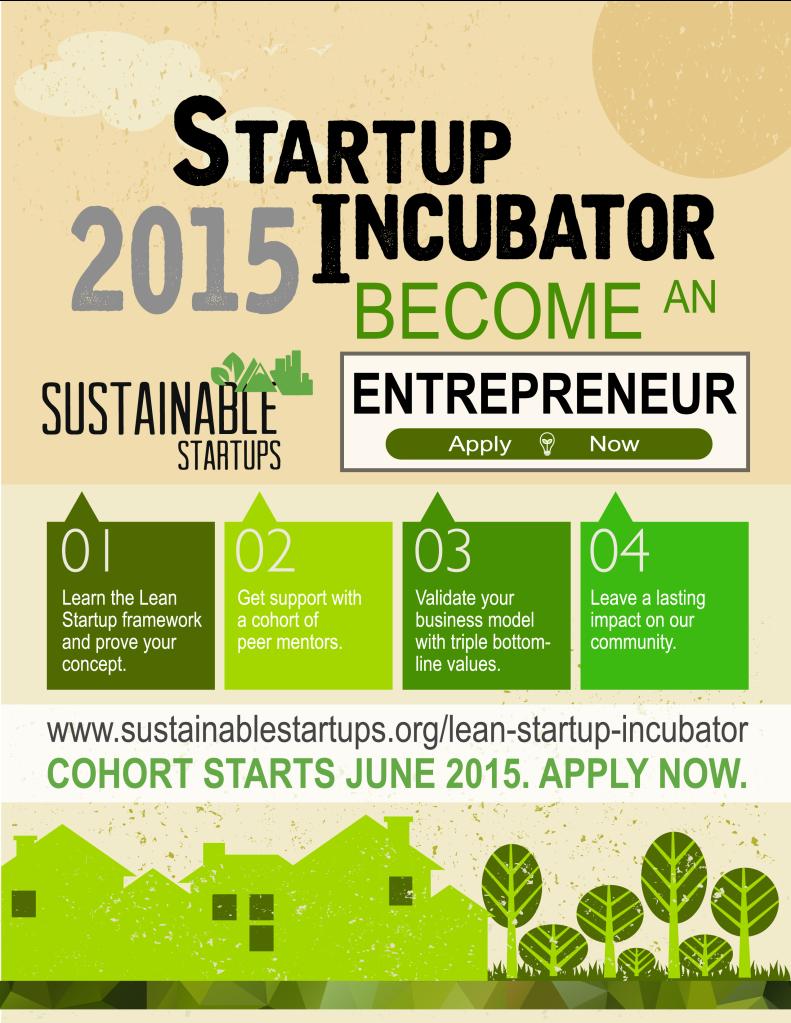 Startup Incubator Poster