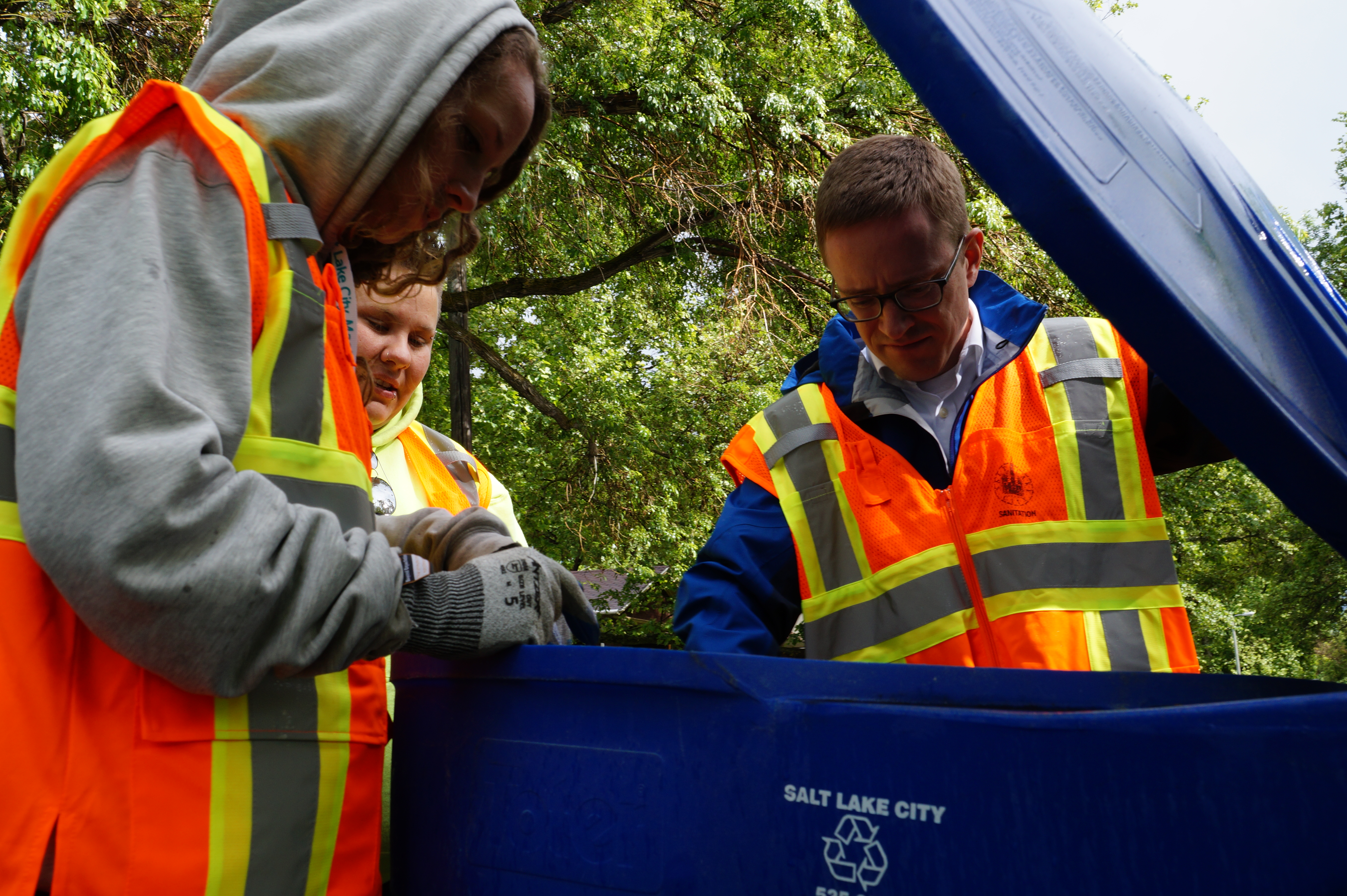 Many Residents Are Glad They Don T Have To Haul All Garbage The Dump It S Really Nice Good Salt Lake City Resident John
