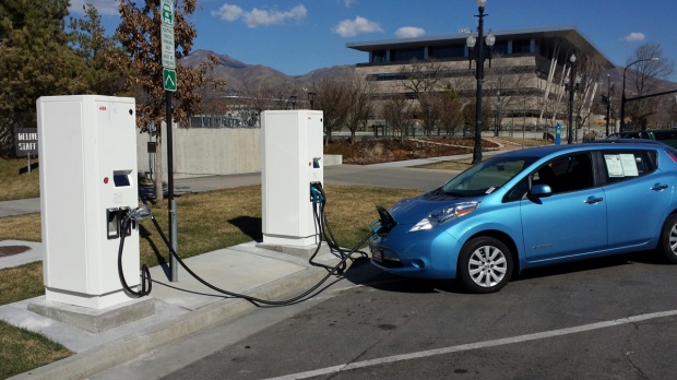 SLC EV Fast-Charge Station - Mar 2015