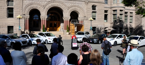 Mayor J. Biskupski launches U Drive Electric Program