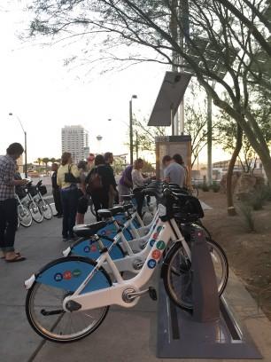 New bike share program in Vegas.
