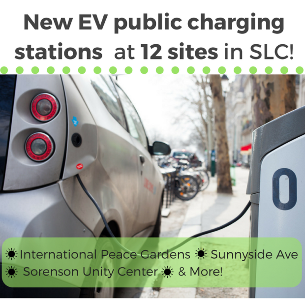 28 New Electric Vehicle charging units installed in SLC