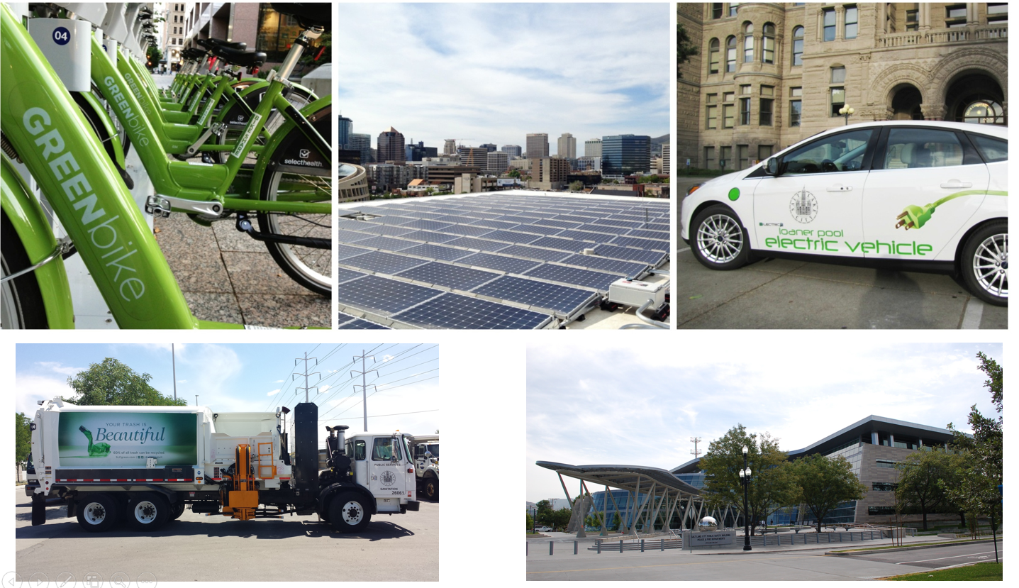 Sustainability Collage