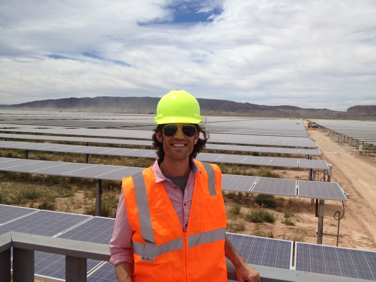 Parowan Solar Tour (Scatec) - Aug 5, 2015