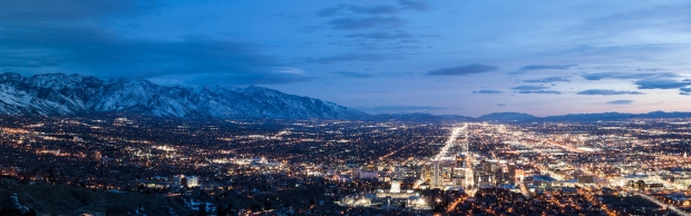 500px Photo ID: 28041007 - Salt Lake City from Ensign Peak