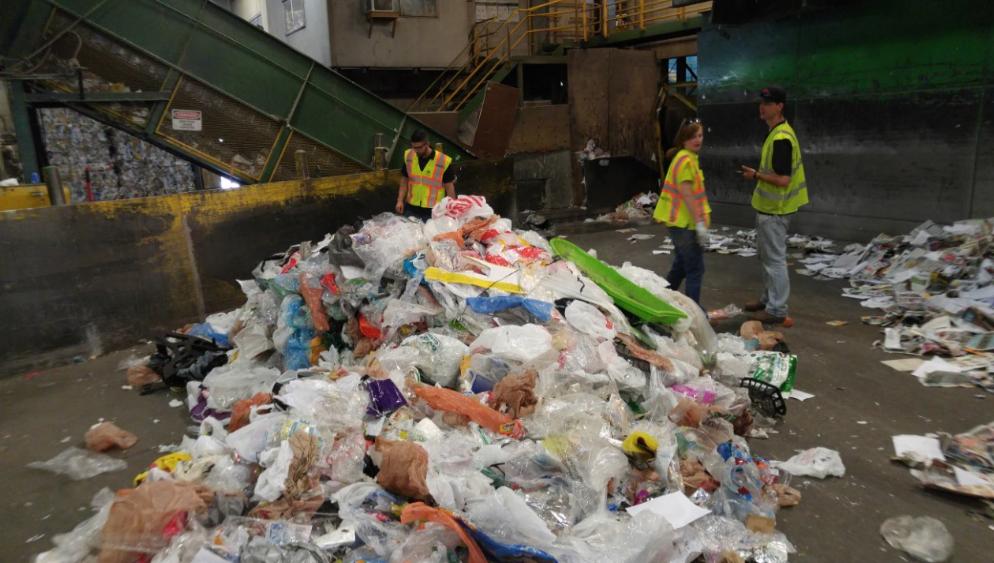 Contamination Plastic Bags
