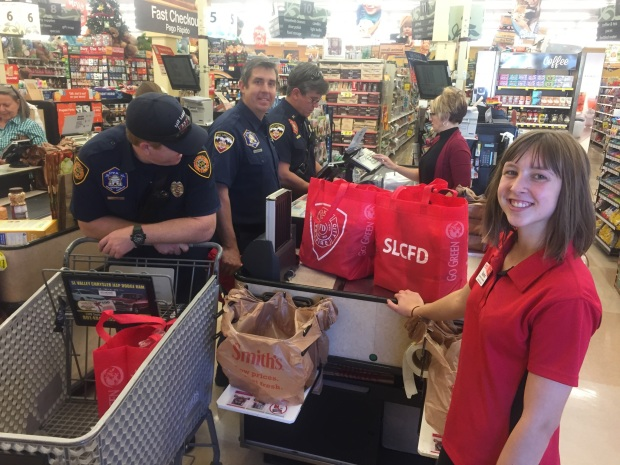 SLCFD Reusable Grocery Bags