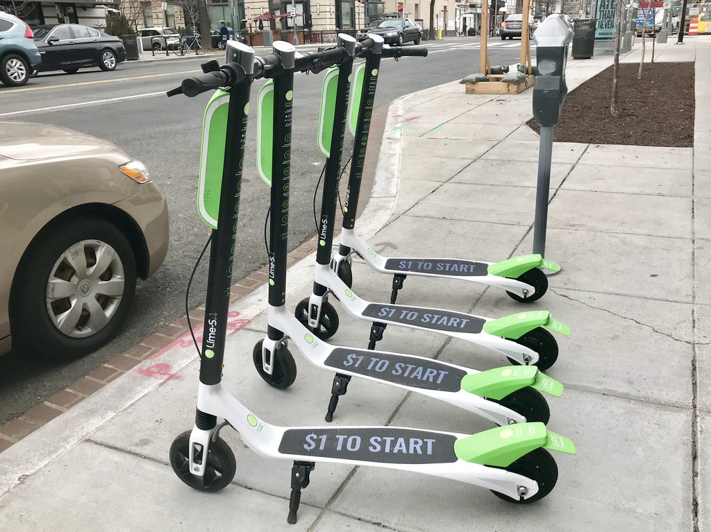 Lime Scooters Flicker