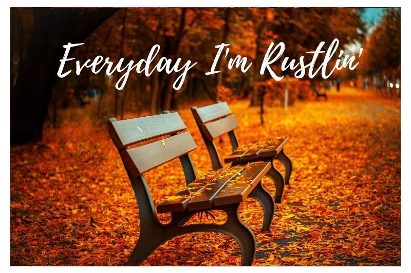 Everyday I'm Rustlin
