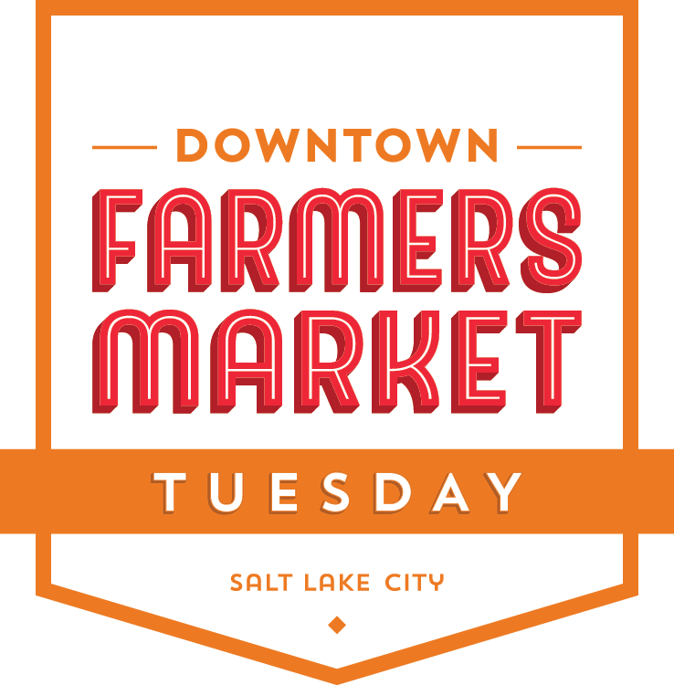 Downtown Farmers Market Tuesday Night logo.