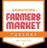 Downtown Farmers Market Tuesday Night logo.