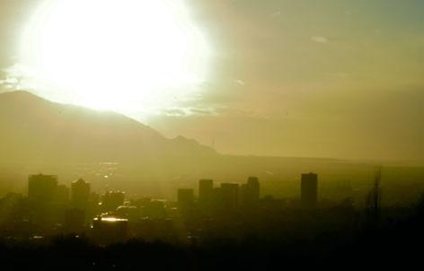 Bad air day in Salt Lake City