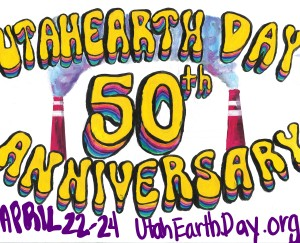 Earth Day 50th Anniversary drawing for UtahEarthDay.org, People's Energy Movement, event.