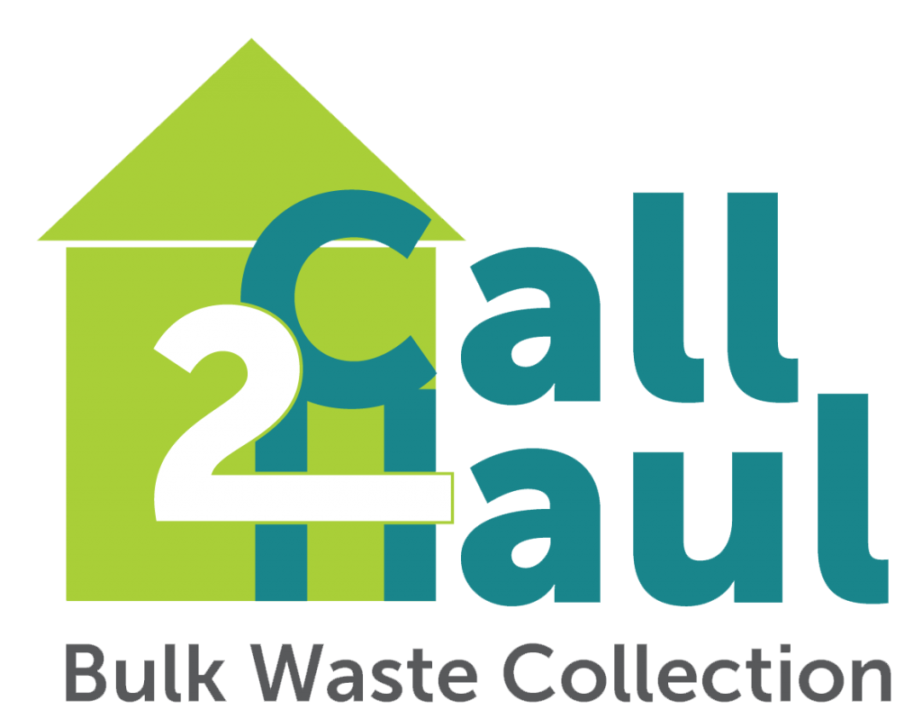 Call 2 Haul Bulk Waste Collection green and teal logo.